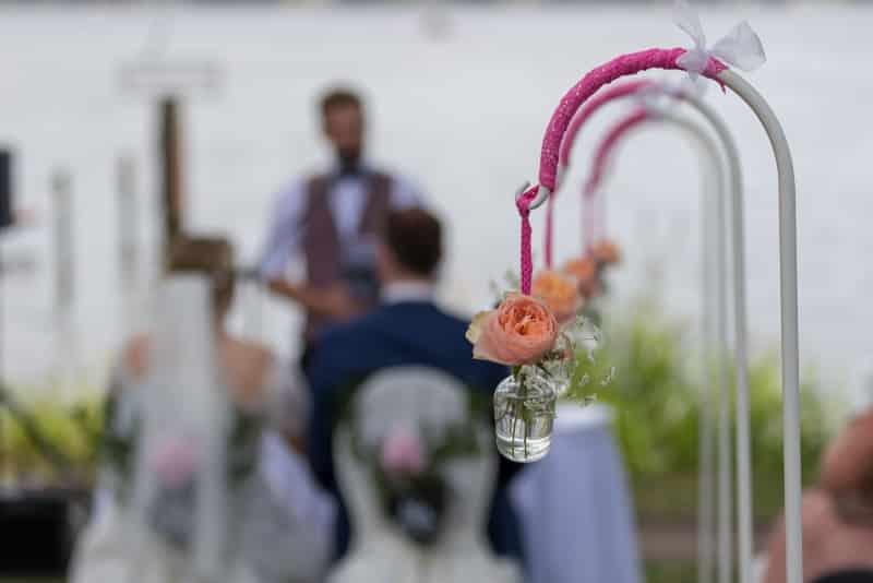 Hochzeitsfoto am Dämmeritzssee